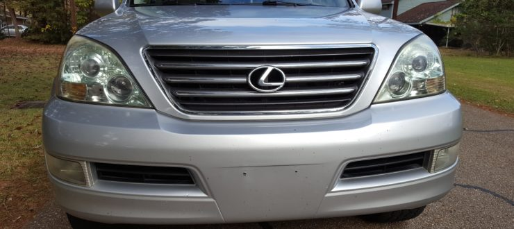 gx470 front